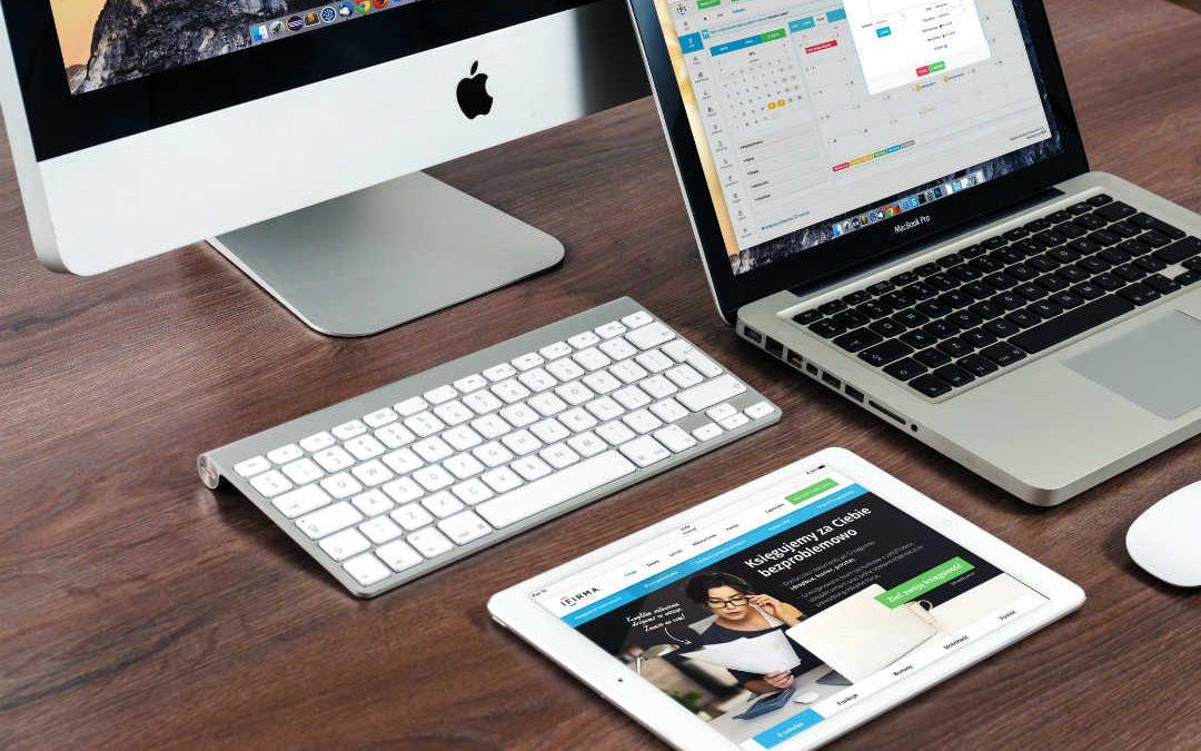 Un mac, un macbook e un ipad